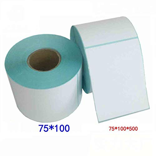LXCS Papel impresión térmica Autoadhesivo 75 * 100