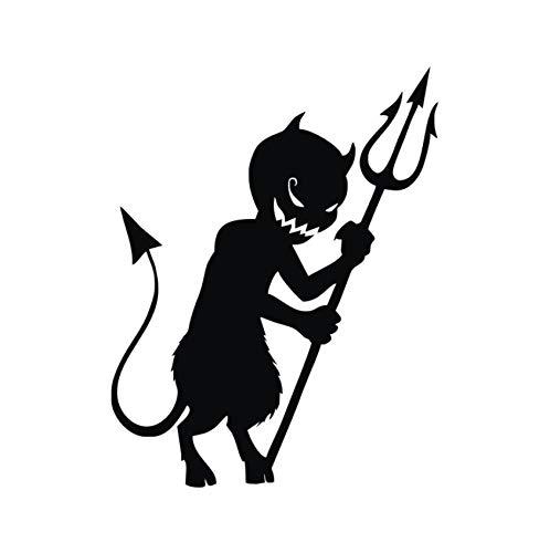 Teufel Cartoon Kid Halloween Lustige Wanddekoration Wandtattoo Vinyl Auto Wallpaper 46 * 59Cm ()