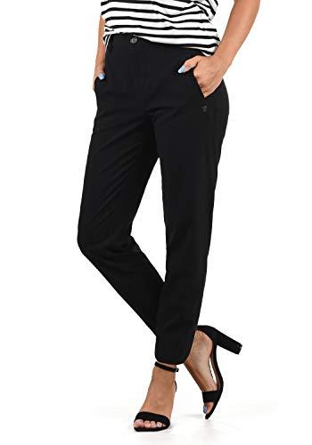 DESIRES Ray Damen Stoffhose Anzugshose, Größe:M, Farbe:Black (9000)