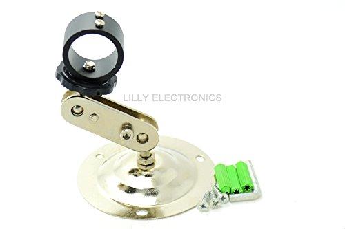 q-baihe 12mm Einstellbare Laser Modul/Taschenlampe Halterung/Klemme/Halterung