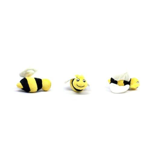 Kyjen Squeakin Animals Ersatzbienen für Hide-a-Bee Hundespielzeug, groß, 3 Stück (Bee Hundespielzeug)