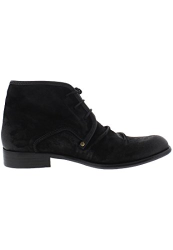 Fly London WATT 2P141854, Stivaletti uomo Black/black