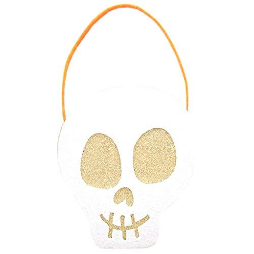 Yunso Halloween Geschenktüten Kinder Süßigkeiten Tote Kinder Geschenke Süßigkeiten Taschen Handtaschen für Kinder oder Kostüm Party (G) (Halloween-kostüm Tote Kleine Mädchen)