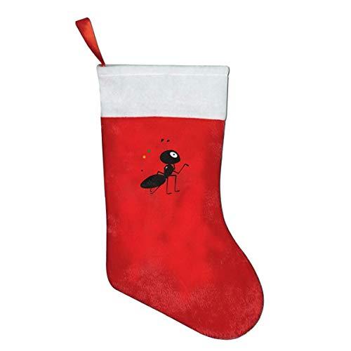 zsxaaasdf Christmas Decorations Background Plush Fabric Christmas Decorations Stocking Traditional Xmas Holiday Supplies Sock -