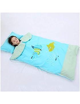 wolaoma Babyschlafsack Herbst und Winter Modelle Steppdecke für Kinder (Farbe : B, größe : 100 * 180cm)
