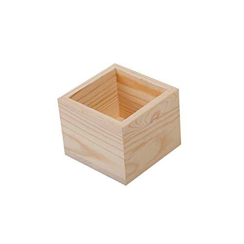 Kentop - Caja de Madera sin Tapa