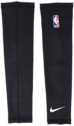 Nike Shooter Sleeves NBA Ärmel Unisex Erwachsene L Mehrfarbig (Negro/Blanco)