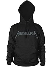 Metallica Kirk Hammett Guitar Black Album Oficial Sudaderas Capucha Hombre
