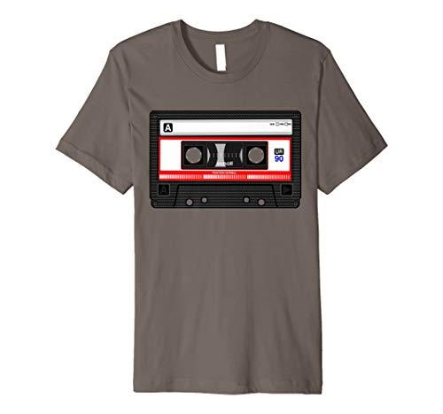 Kassette Tape Kostüm Shirt 80er 90er Party Outfit T-Shirt