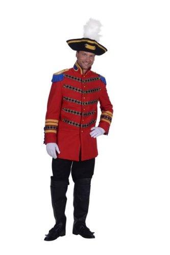 Thetru 1564 - Herren Zirkusdirektor Jacke, Rot/Blau