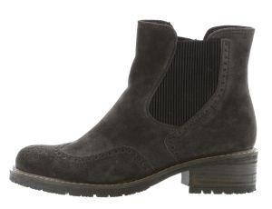 Gabor - Damen Stiefeletten - Grau Schuhe in Übergrößen, Größe:43