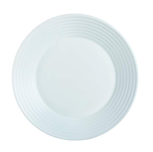Luminarc 8013637 Harena Assiette Creuse Diamètre 23.5 cm Opale Blanc 23,5 x 3 cm 1 unité