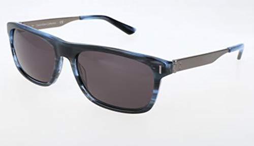 Calvin Klein Herren Ck8003S 402-58-17-140 Sonnenbrille, Blau, 58