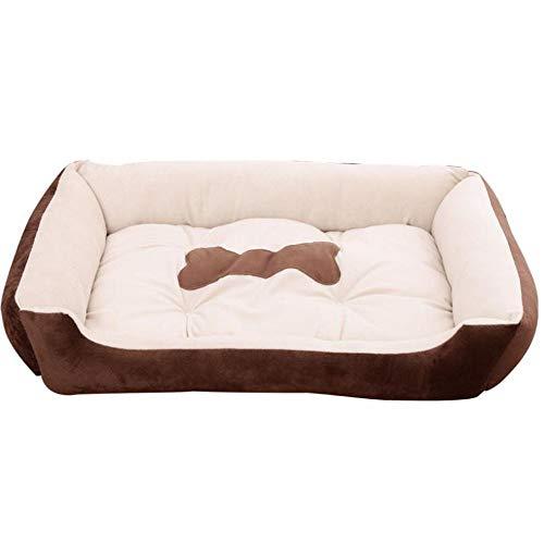 Hound Comfort Bett, Schlafsofa für Hunde Extra weich waschbar Bequemes Haustierbett Bettwäsche (Size : XS) (Wicker Hund Betten, Extra Große)
