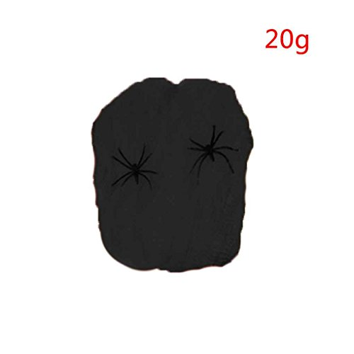 Stretchy Spider Web Horror DIY Spinnennetz Stütze für Halloween Scary Party Szene Dekoration (Scary Halloween Party Dekoration Diy)