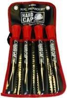 Mayhew Pro 66901 Hard Cap Pin Punch Set, 4-Piece by Mayhew (Hard Cap Punch)