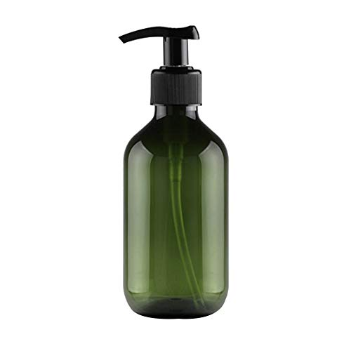 Qinlee Squeeze Emulsionsflasche Handlotion Duschgel Toner Shampoo Spender Flasche Perfekt für Home Reisen -300ml - Duschgel-spender