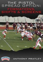 Option Spread (Anthony Pratley: The Pistol Spread Option Offense: Formations, Shifts, Motions and Screens (DVD))