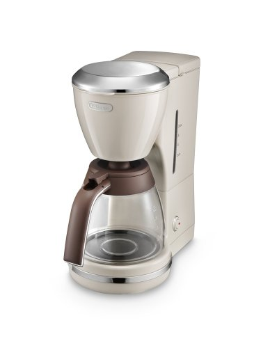 De'Longhi Icona Vintage ICMOV 210.BG – coffee maker – cream