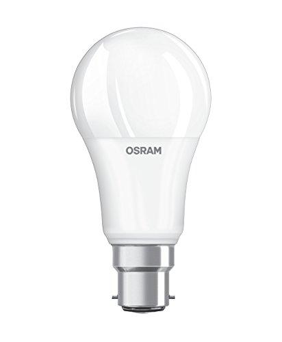 Osram LED Base Classic A Lampe, Sockel: B22d, Warm White, 2700 K, 13 W, Ersatz für 100-W-Glühbirne, matt -
