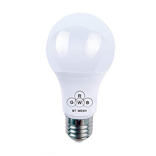 E27 4.5W LED Smart Light Bulb Colourful Music Control Voice Bluetooth WiFi Night Light