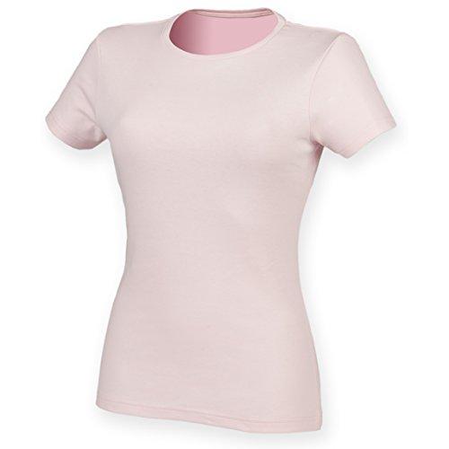Skinni Fit Feel Good - T-shirt étirable à manches courtes - Femme Rose pâle