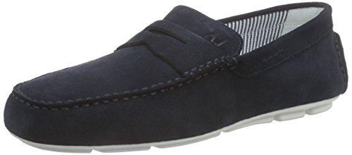 Armani Jeans  0658855, Mocassins (loafers) homme Bleu - Blau (BLU - BLUE Y5)