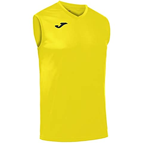 Joma - Camiseta combi amarillo s/m para hombre