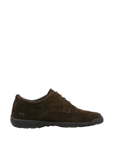 4218 Sapatos suem Chocolate Escuro Atado HBBqrEw5