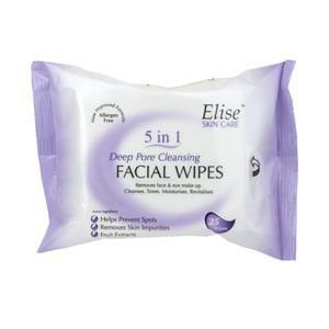 Pore Cleansing Wipes (Elise Cleansing Wipes 25'S Deep Pore)