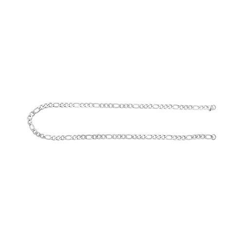 Saizen CH117 Stainless Steel Chain for Men and Boys (Silver)