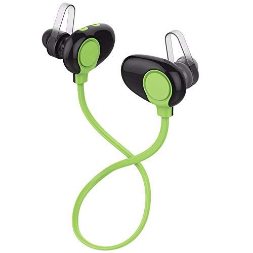 LRWEY Bluetooth-Headset, 4.3 Bluetooth-Headset-Kopfhörer Drahtloses Kopfhörer-Mikrofon Sportkopfhörer, für iPhone, iPad, Samsung, Huawei, Tablet usw