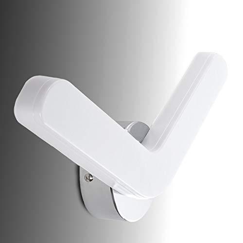 Greenice | LED-Wandleuchte Boomerang 15W 960Lm 30.000H | Natürliches Weiß