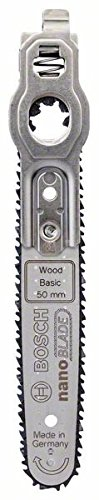 Bosch Sägeblatt Wood Basic 50 (mit NanoBlade Technologie für EasyCut 12, 50 und AdvancedCut 50)
