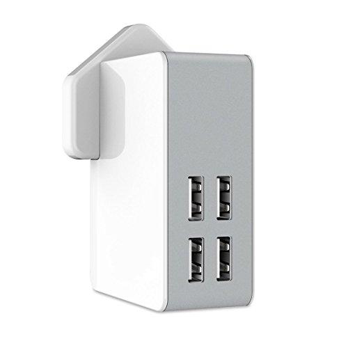Easy-Link USB Ladegerät 4-Port 40W 5V 8A USB Netzteil mit EU /...