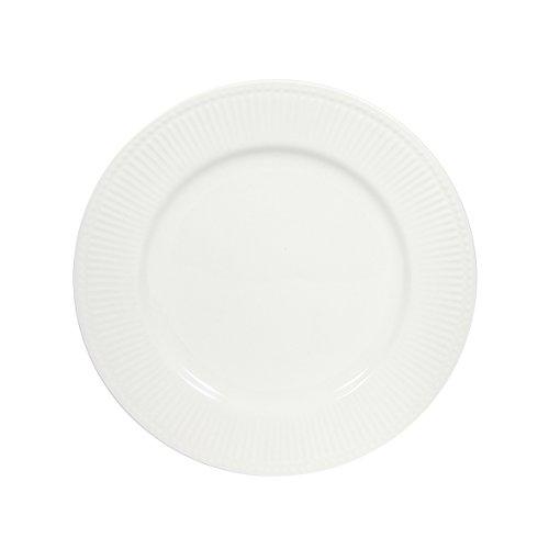 Novastyl 8018083 Lot DE 6 Assiettes Dessert Perle en CERAMIQUE DIAMETRE 19CM-8018083, Blanc, 19 cm