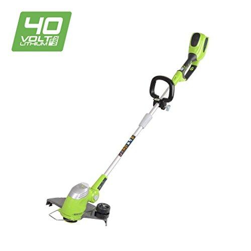Greenworks Tools 21107 Cortaborde eléctrico de jardín, 40 V, Verde