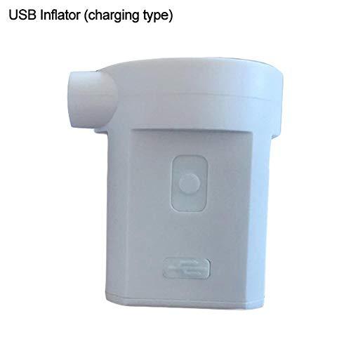 are Luftpumpe - Tragbare Lithiumbatteriepumpe Kleine USB-Pumpe Inflator Schnellfüll-Inflator Deflator Luftmatratze Pumpe Für Luftmatratze See Schwimmt Flöße Pool Spielzeug ()