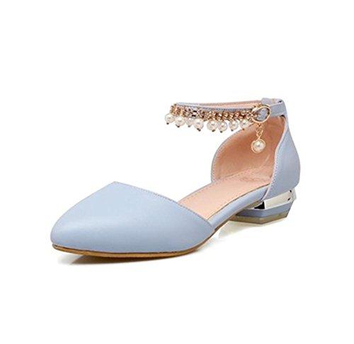 pengweiPrimavera e estate appuntata con sandali femmina in materiale antiscivolo in rilievo 3