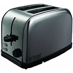 Russell Hobbs Futura 2-Slice Toaster 18780 - Stainless Steel Silver