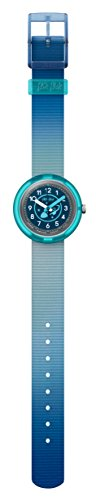 Flik Flak Unisex Kinder Analog Quarz Uhr mit Stoff Armband FPNP025