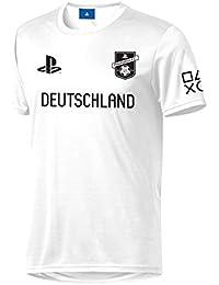 Sony Playstation FC - Alemania - Hombre Oficial Camiseta de Fútbol