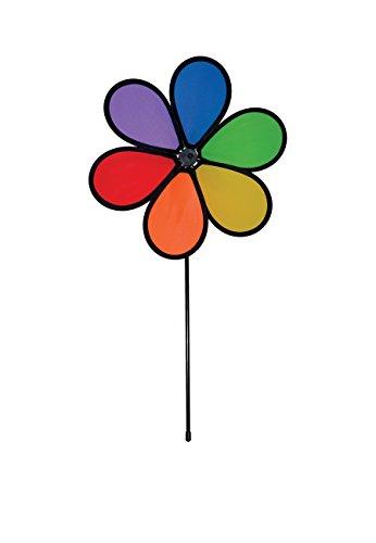 Breeze dans The Rainbow Sparkle Fleur Spinner avec Feuilles Taille S 12\