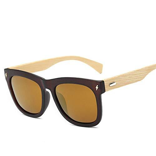ANSKT Holzsonnenbrille für Männer und Frauen mit polarisierten Gläsern