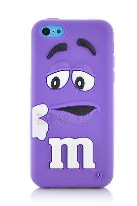 coque-iphone-5c-mms-silicone-violet