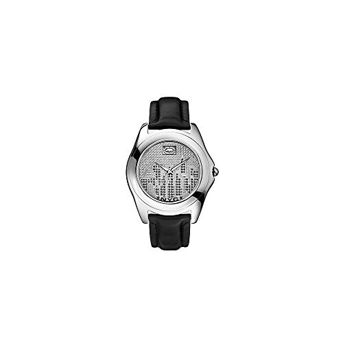 Marc Ecko Reloj Análogo clásico para Hombre de Cuarzo con Correa en Cuero E08504G3