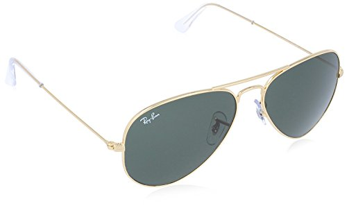 Ray-ban rb 3025 occhiali da sole, oro (gold), 55 mm unisex-adulto