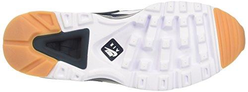 Nike Herren Air Max Bw Ultra Trainer Elfenbein (White/armory Navy/industrial Blue)