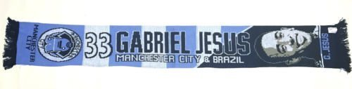 Gabriel Jesús Manchester City Jugador Bufanda