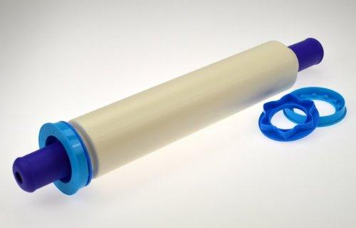 TUPPERWARE Rolle ptisserie Weiß-Blau